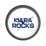 kiara rocks Wall Clock