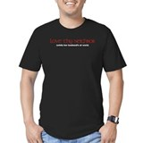 Love Thy Neighbor Men's Fitted Dark T-Shirt