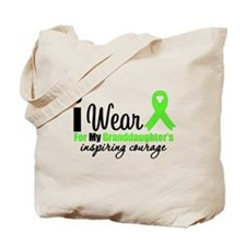 Lymphoma Courage Granddaughter Tote Bag