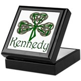 Kennedy Shamrock Keepsake Box