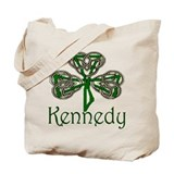Kennedy Shamrock Tote Bag