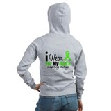 Lymphoma Courage Dad Zip Hoodie