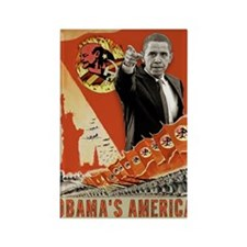 communist obama Rectangle Magnet (10 pack)
