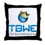 TBWE - The Best Website Ever Throw Pillow