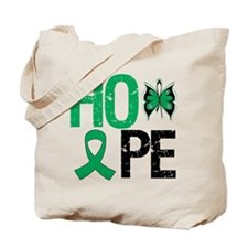 Liver Cancer Hope Tote Bag