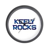 keely rocks Wall Clock