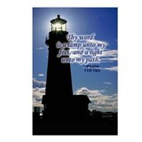 Lamp Unto My Feet Postcards (Package of 8)
