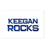 keegan rocks Postcards (Package of 8)