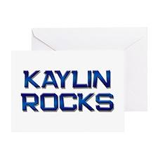 kaylin rocks Greeting Card