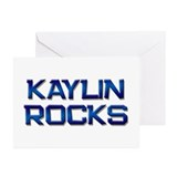 kaylin rocks Greeting Cards (Pk of 10)