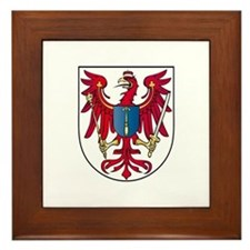 Margraviate of Brandenburg Framed Tile