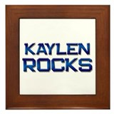 kaylen rocks Framed Tile