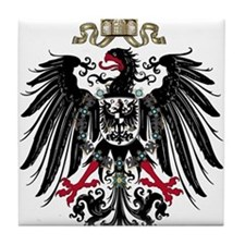 German Empire Tile Coaster