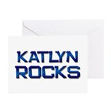 katlyn rocks Greeting Cards (Pk of 10)