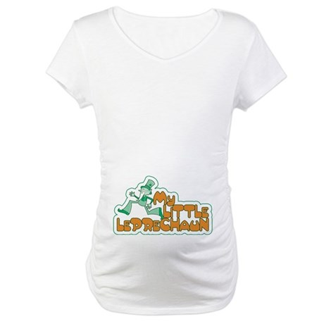My Little Leprechaun Maternity T-Shirt