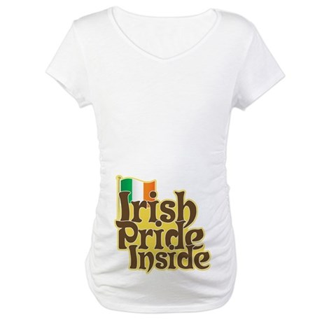 Irish Pride Inside Maternity T-Shirt