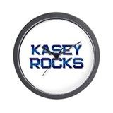 kasey rocks Wall Clock