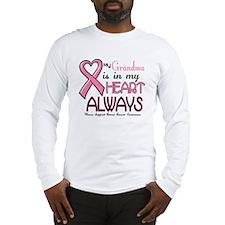 In My Heart 2 (Grandma) PINK Long Sleeve T-Shirt