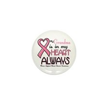 In My Heart 2 (Grandma) PINK Mini Button (10 pack)