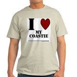 Coastie Love  Ash Grey T-Shirt