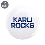 "karli rocks 3.5"" Button (10 pack)"