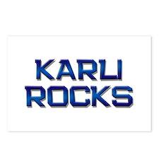 karli rocks Postcards (Package of 8)