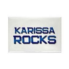karissa rocks Rectangle Magnet