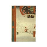 Kinryuzan Temple Asakusa Rectangle Magnet (10 pack