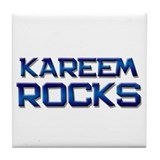 kareem rocks Tile Coaster