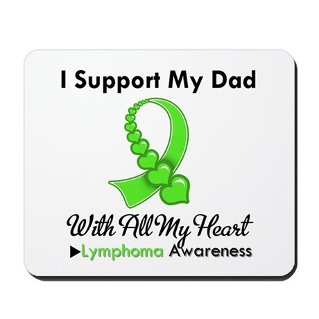 Lymphoma Support Dad Mousepad
