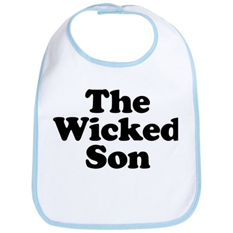 The Wicked Son Bib