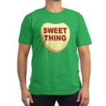 Sweet Thing Valentine Heart Men's Fitted T-Shirt (