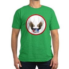 USA BadAss Patriot Tattoo T