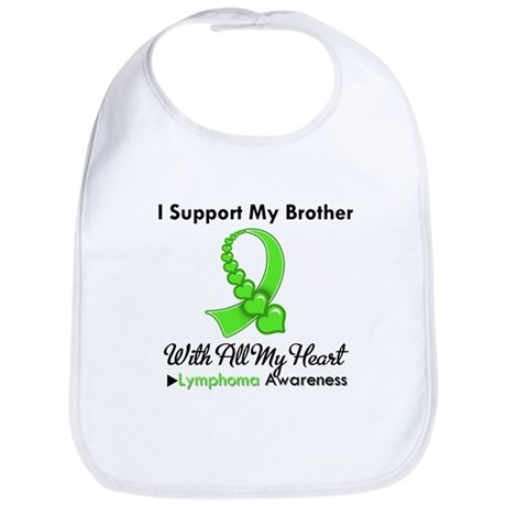 LymphomoaSupportBrother Bib