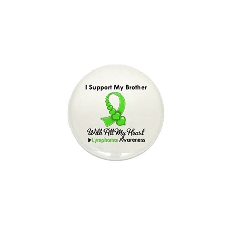 LymphomoaSupportBrother Mini Button (100 pack)