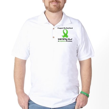 LymphomaSupportBoyfriend Golf Shirt