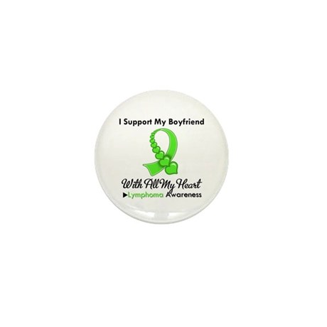LymphomaSupportBoyfriend Mini Button (10 pack)