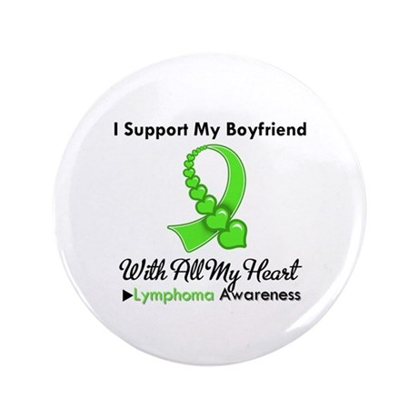 "LymphomaSupportBoyfriend 3.5"" Button (100 pack)"