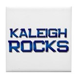 kaleigh rocks Tile Coaster