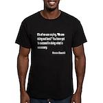 Churchill Necessary Success Q Men's Fitted T-Shirt