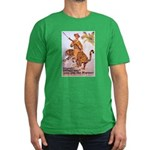 Marines Adventure Poster Art Men's Fitted T-Shirt