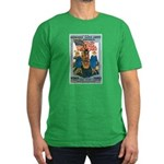 Woman's Land Army Men's Fitted T-Shirt (dark)