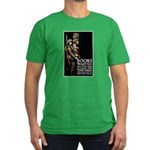 Books Wanted Poster Art Men's Fitted T-Shirt (dark