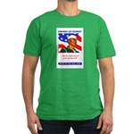 Enlist in the US Navy Men's Fitted T-Shirt (dark)