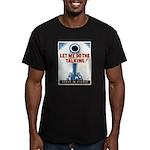 Big Guns Talk Poster Art Men's Fitted T-Shirt (dar