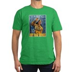 Till We Meet Again Poster Art Men's Fitted T-Shirt
