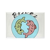 Pisces1 Rectangle Magnet