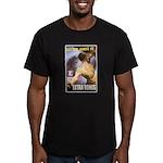 Let Em Have It5 Men's Fitted T-Shirt (dark)
