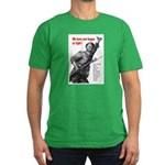 Patriot Just Begun to Fight Men's Fitted T-Shirt (
