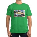 Camp Beale California Men's Fitted T-Shirt (dark)